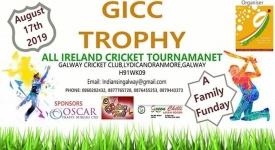 GICC ട്രോഫി  ക്രിക്കറ്റ് മത്സരം നാളെ (17/08/2019) ഗോള്വേയില്